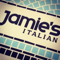 Photo taken at Jamie's Italian by Fabricio Z. on 4/22/2013