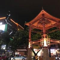 Photo taken at 正阳步行街 Guilin Walking Street by クリスティン c. on 6/27/2017