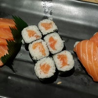 Photo taken at Sushi Kiosk by Cluelinary on 5/8/2014
