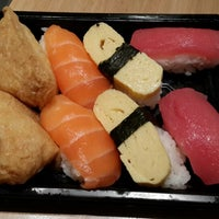 Photo taken at Sushi Kiosk by Cluelinary on 9/5/2013