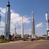 Photo taken at Kennedy Space Center Visitor Complex by Nannette A. on 3/30/2013