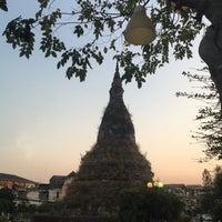 Photo taken at That Dam Stupa by Meenoy M. on 3/8/2017