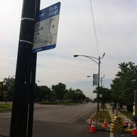 Photo taken at CTA Bus Stop 1795 by Gregg P. on 7/21/2013