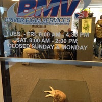 Photo taken at Ohio BMV License Bureau & Driver Exam Station by Gregg P. on 11/1/2014
