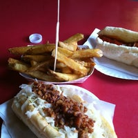 Photo taken at Rawley's Hot Dogs by Jack C. on 7/22/2013