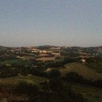 Photo taken at Belmonte Piceno by Giorgia B. on 8/5/2013