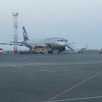 Photo taken at Odessa International Airport (ODS) by Казавчинский Д. on 5/19/2013