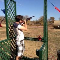 11/23/2012 tarihinde Ryan J.ziyaretçi tarafından Elm Fork Shooting Range'de çekilen fotoğraf