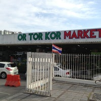 Photo taken at Or Tor Kor Market by FUDOU T. on 12/31/2012