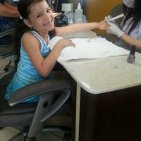 Photo taken at Super Nails by Audrey D. on 6/5/2013