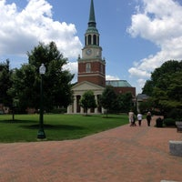 Photo taken at Wake Forest University by Greg S. on 6/15/2013