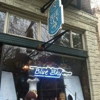 Photo taken at Blue Sky Café by Christopher Z. on 10/28/2012