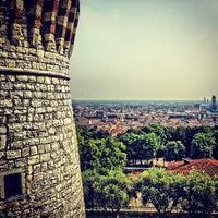 Photo taken at Castello di Brescia by Giovanni B. on 7/19/2013