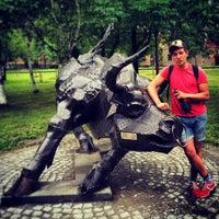 Photo taken at Какой-то Парк В Хабаровске by Andy M. on 7/24/2014