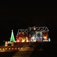 Photo taken at Our Dancing Lights by Jennifer C. on 12/20/2012
