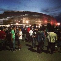 Photo taken at Astana Arena by Zamira l. on 8/20/2013
