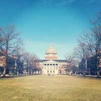 Photo taken at Eastman Quadrangle by Eric B. on 4/6/2013