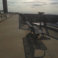 Photo taken at Woodrow Wilson Bridge Pedestrian Trail by iROCKMYOWNSTYLE on 6/20/2013