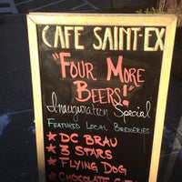 Photo taken at Cafe Saint-Ex by Miles G. on 1/18/2013