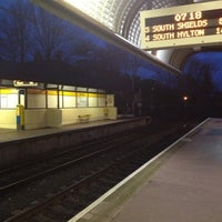 Photo taken at Ilford Road Metro Station by Stephen Y. on 11/23/2012