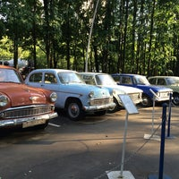 Photo taken at Отечественные ретро автомобили by Natt_Sonic on 5/31/2014