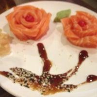 Photo taken at Naka Naka Sushi Bar by Marcela I. on 12/2/2012
