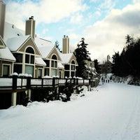 Photo taken at Mount Snow Main Base Lodge by Joanna N. on 3/1/2013