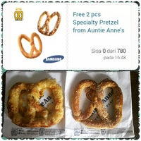 Photo taken at Auntie Anne's by Freylicious ?. on 2/12/2015