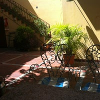 Photo taken at Puerto Limon Hostel by Delphine P. on 1/30/2013