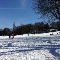 Foto tomada en Viktoriapark por Uwa S. el 3/23/2013