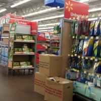 Photo taken at Walmart Supercenter by William C. on 3/24/2013