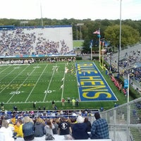 Photo taken at Delaware Stadium by William C. on 10/12/2013
