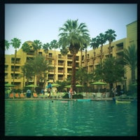 Photo taken at Renaissance Palm Springs Hotel by Jerry C. on 4/21/2013