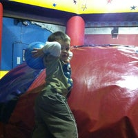 Photo taken at Pump It Up by Heather H. on 2/19/2013