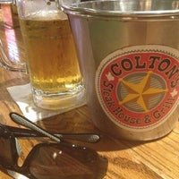 Photo taken at Coltons Steakhouse by Yazmin R. on 5/26/2014