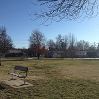 Photo taken at McNair Park by Yazmin R. on 2/4/2013
