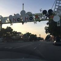 Photo taken at NoHo Sign by Francis Roy B. on 4/24/2017