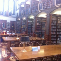Photo taken at Gardner A. Sage Library by Steven G. on 5/1/2013