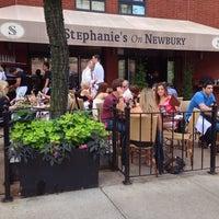 Photo taken at Stephanie's On Newbury by Darron C. on 6/29/2013