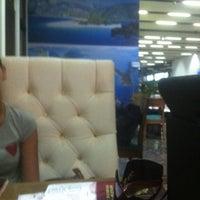 Photo taken at CIP Lounge by Антон И. on 11/1/2012