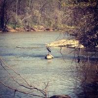 Photo taken at Haw River by Rebekah T. on 4/9/2013