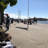 Photo taken at Ångbåtsbryggan Vaxholm by Simon J. on 7/10/2017