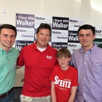 Photo taken at GOP Victory Center - Racine, WI by Bill L. on 6/1/2014