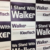 Photo taken at GOP Victory Center - Racine, WI by Bill L. on 6/15/2013