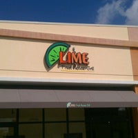 Photo taken at Lime Fresh Grill by AL C. on 2/24/2013