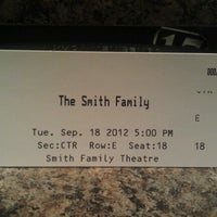 Photo taken at Smith Family Theater by Randy F. on 9/18/2012
