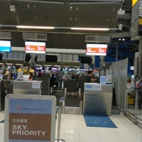 Photo taken at China Airlines (CI) Check-In Area by chettanaa on 5/24/2017