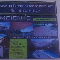 Photo taken at Ambiente Exterior by Salvatore T. on 2/14/2014