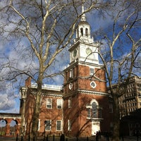 Photo taken at Independence Hall by Rob K. on 12/22/2012