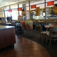 Photo taken at Einstein Bros Bagels by Laura I. on 1/30/2013